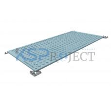 Дорожная плита КДМ-ЭКО 1, размер 2х1,5 м