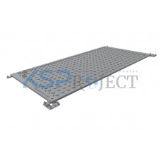 Дорожная плита КДМ-ЭКО 1, размер  2х1 м