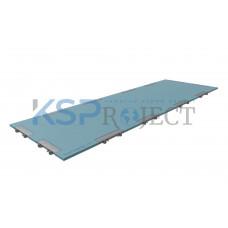 Дорожная плита КДМ-ЭКС 1, размер 6х2 м