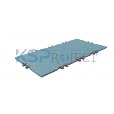 Дорожная плита КДМ-ЭКС 2, размер 4х2 м