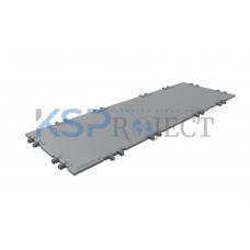 Дорожная плита КДМ-ЭКС 2, размер 6х2 м