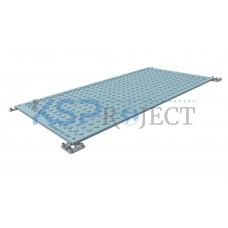 Дорожная плита КДМ-ЭКС 3, размер 4х2 м