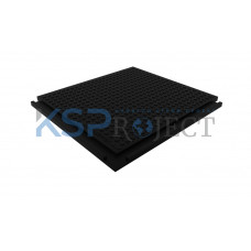 Дорожная плита КДМ-Изопласт, размер 715х565 мм