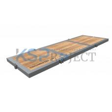 Дорожная плита КДМ-Тундрамат Буровик 1, размер 6х2 м