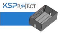 Технические испытания Мобильного Траншейного Бокса (МТБ) производство ГК КСП